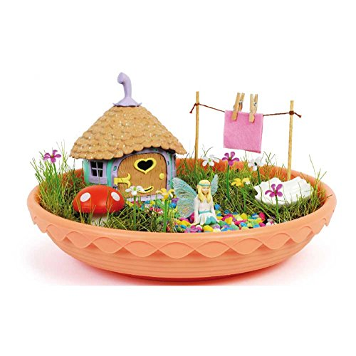 Fairy Garden-4615 Casita de Las Hadas, Multicolor, única (CEFA Toys 04615)