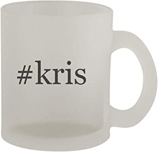 #kris - 10oz Hashtag Frosted Coffee Mug Cup, Frosted