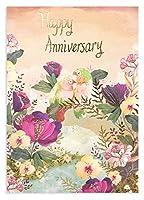ロジャーラボード グリーティングカード (二羽のインコ) 記念日 メッセージカード GC2152
