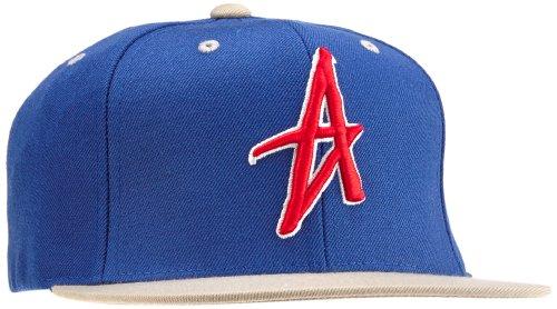 Altamont Herren Cap Decades Snapback, Blue/Red/White, One Size