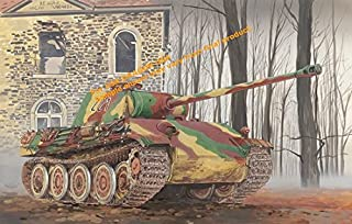 Dragon Models 1/35 Panther Ausf. G Late Production with Steel Road Wheel