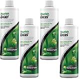 Seachem Flourish Excel - Botellas de 500 mililitros (4 unidades)