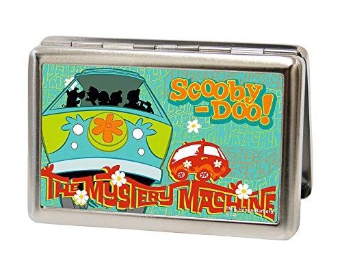 Buckle-Down Herren Business Card Holder DOO Geldbrse, Scooby Doo11, 10 cm x 7 cm