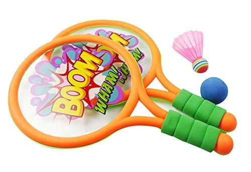 Tennis Racket Sports de Plein air Badminton Racket Jouets Pour Enfants Bébé Fitn
