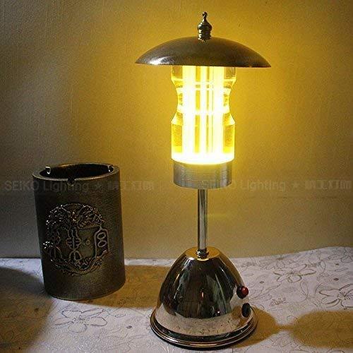Utility tafellamp American Retro Bar LED bureaulamp nachtlampje restaurant café kaars licht warm geel T-D Wit licht