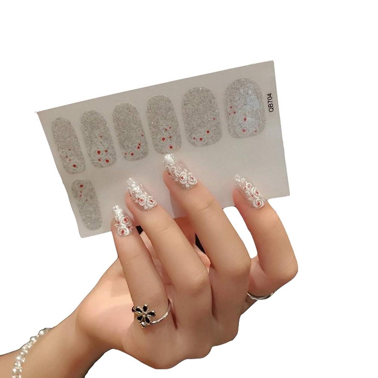 満たす創傷非効率的なネイルシール 貼るだけ 12枚セット ネイルラップ 簡単 貼るだけ ラップネイルシール ネイルアート ラップシール アクセサリー おしゃれな (QB704)