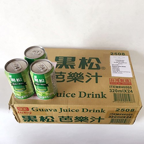 黒松芭樂汁【24缶セット】グァバジュース 台湾産 清涼飲料 夏定番 320mlX24缶