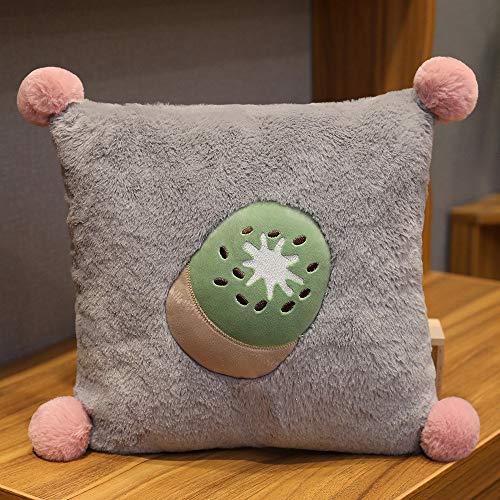 pluche knuffels,Kussen Meisje Slapen Verwijderbare En Wasbare Knuffel Bed Vrouwelijke Groei Bar Kussen Schattige Pop Kussen Pop Kussen 40 * 40 cm Kiwi