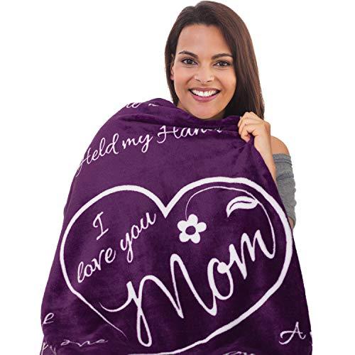 I Love You Mom Blanket