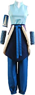 Korra Cosplay Costume | Anime Book 1 Full Set Avatar | Halloween Costume | Unisex for Men and Women