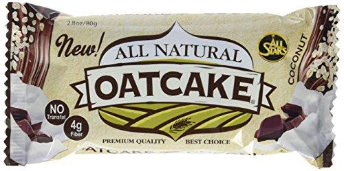 All Stars All Natural Oatcake, Coconut, 24er Pack (24 x 80 g)