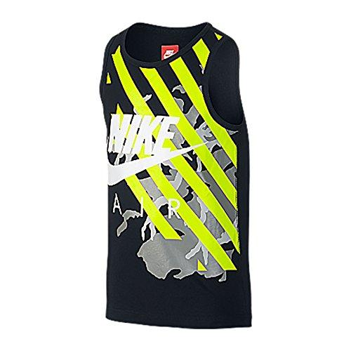 Nike - Maglia da golf Dri-Fit con collo alto, colore: Rosso Varsity