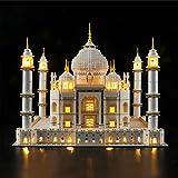 Nlne Conjunto De Luces (Expert Taj Mahal) Modelo De Construcción De Bloques - Kit De Luz LED Compatible con Lego 10256, NO Incluido En El Modelo