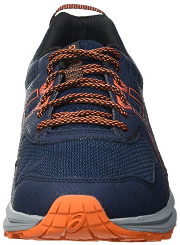 Asics Scout, Trail Running Shoe Hombre, French Blue/Marigold Orange, 45 EU