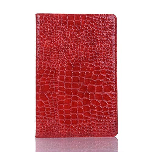 AXRXMA Crocodile Leather Twitch Stand Light-Weight Tablet Case Cover Compatible with Galaxy Tab S5e 10.5 inch 2019 SM-T720/SM-T725 (Color : Red)
