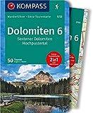 KOMPASS Wanderführer Dolomiten 6, Sextener Dolomiten, Hochpustertal: Wanderführer mit Extra-Tourenkarte 1:50.000, 50 Touren, GPX-Daten zum Download