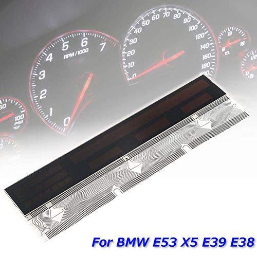 ZqiroLt LCD-Display, Tachometer und Pixel Repair Flachbandkabel für BMW E38 E39 X5 E53