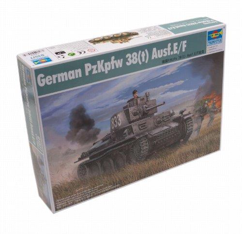 Trumpeter 01577 Modellbausatz German PzKpfw 38(t) Ausf.E/F