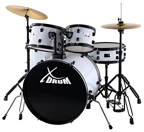 XDrum Rookie 55,9 cm Fusion drum set bianco