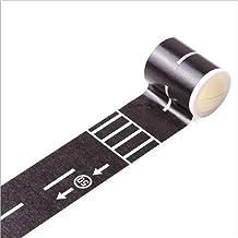 XIAOXINGXING 48mmX5m Railway Road Washi Tape Breed Creatief Verkeer Weg Zelfklevende Afplakband Road Decor Tape Voor Kinde...