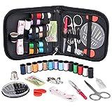 GAOHOU 14種カラー ソーイングセット 裁縫セット ソーイングボックス 携帯式 収納バッグ付き ミシンアクセサリー 多色縫い糸ト ラベルセット
