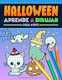 Halloween: Aprende a dibujar para niños: Un divertido libro de actividades con 35 ilustraciones...