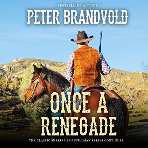 Once a Renegade audiobook cover art
