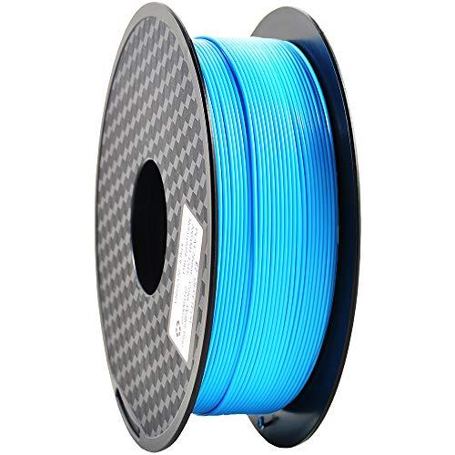 Filamento PLA 1,75 mm, filamento stampante 3D GIANTARM Bobina PLA 1 kg (blu acqua)…