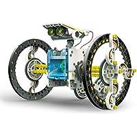 Elenco Teach Tech SolarBot.14, Transforming Solar Robot Kit