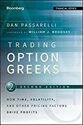 Trading Options Greeks - Passarelli image