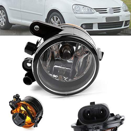 Artudatech luces antiniebla para coche, luz antiniebla delantera izquierda, foco de luz antiniebla, luces antiniebla, lámpara de parachoques para V W Golf MK5 06-2009 US Versión 1K0941699C
