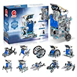 CIRO Solar Robot Toys, STEM Toys Projects for Kids Ages 8-12 and Order, Science Building Educational Gifts for Boys 8 Years and up