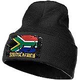 Bonnet Chapeau Drapeau D'afrique du Sud Football Rugby Crâne Cap Chapeaux en Tricot Stretchy Doux Cap Crâne pour Femmes Hommes