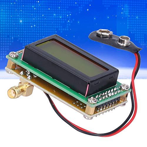 EFFACER Medidor de frecuencia, Contador de frecuencia Pantalla LCD Enchufes SMA (Hembra) Entrada para módulo de Prueba