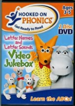 Hooked On Phonics Letter Names and Letter Sounds DVD Set Ages 3-5