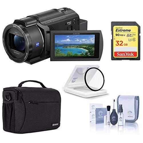 Sony FDR-AX43 UHD 4K Handycam Camcorder...