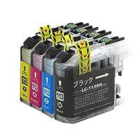 LC113-4PK ブラザー互換インクカートリッジ brother LC113シリーズ 4色セット インクファクトリー