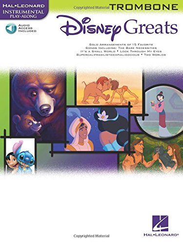 Disney Greats Trombone Book/Cd Playalong: Noten, CD für Posaune: Instrumental Play-Along (Disney Greats S)