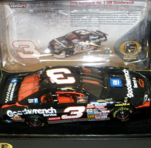 RCCA Elite Series Top of The Line Diecast Dale Earnhardt Sr #3 Crash Car 1997 Daytona 500 Race 1/24 Scale Action Racing Collectables Product Package Labeled Adult Collectable Individually Serialized