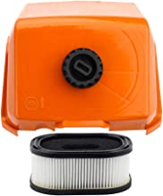 Air Filter with Cover Kit for Stihl 044 044W 044R 044C MS440 MS440 Parts Replace # 1128 140 1003, 0000 120 1654 Chainsaw