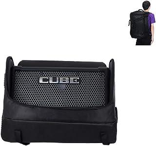 Cube Street Ex bolsa, diseño de correa para el hombro, grosor de esponja, 22,8 x 15,2 x 38,1 cm, color negro