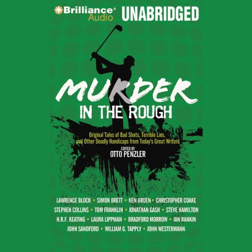 Murder in the Rough audiobook cover art