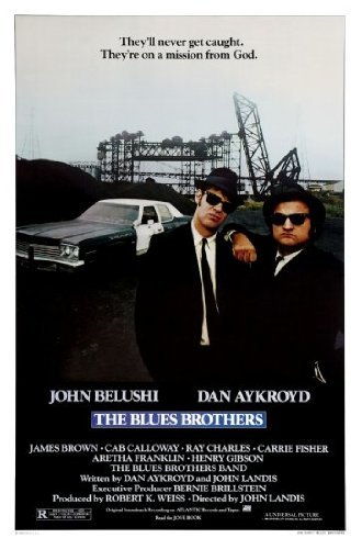 Blues Brothers Film Poster 61cm x 91cm 61x 91,4cm