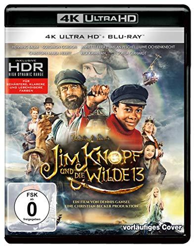 Jim Knopf und die Wilde 13 (4K Ultra HD) (+ Blu-ray 2D)
