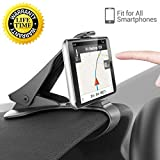 LXCN® Cell Phone Holder for Car, Dashboard Anti-Slip Vehicle GPS Car Mount Universal