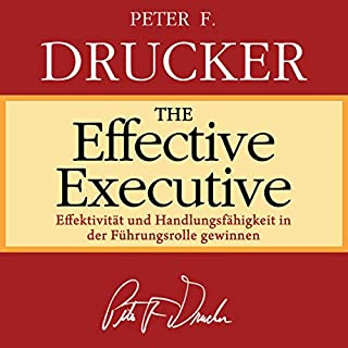 The Effective Executive (German Edition) Titelbild