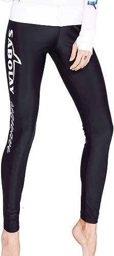 HNPYY Veste Blanche à Manches Longues avec Capuchon écran Solaire de Natation Combinaison à séchage Rapide à séchage Rapide Maillot de Bain Zipper Surf Clothing Pantalon Long
