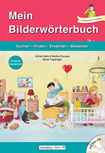 Mein Bilderwörterbuch, Deutsch - Rumänisch, m. Audio-CD