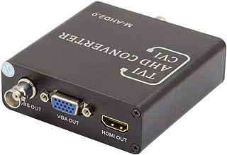BNC AHD TVI CVI CVBS to HDMI VGA CVBS PAL NTSC Coaxial Video Converter AHD TVI 5MP CVI 2MP for Analog CCTV IP Camera DVR X...