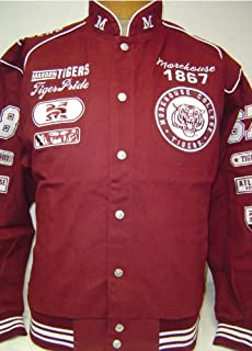 Big Boy Gear 3XL Morehouse College Tiger Pride Heavyweight Snap up Racing Style Jacket